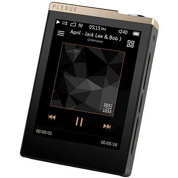 COWON PD 32GB - černo/zlatý (8809290182951)