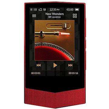 COWON Plenue V 64GB červený (8809290183477)