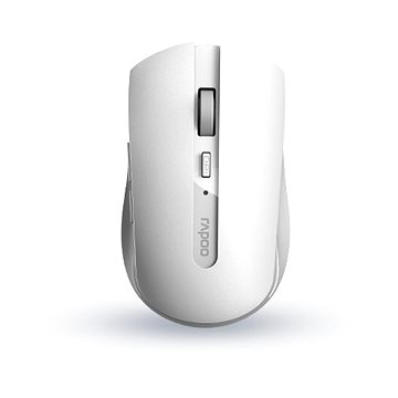 Rapoo 7200M Multi-mode bílá (6940056180438)