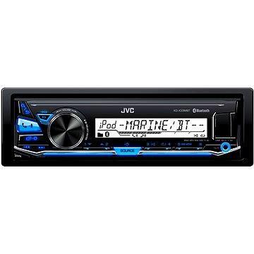 JVC KD X33MBT + ZDARMA Audiokniha MP3 Mix mluveného slova