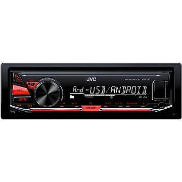 JVC KD X130 + ZDARMA Audiokniha MP3 Mix mluveného slova