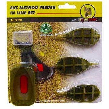 Extra Carp Method Feeder Set 20,25,30g + formička (8606013287203)