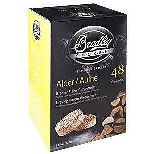 Bradley Smoker - Brikety Olše 120 kusů (689796900123)