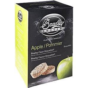 Bradley Smoker - Brikety Jabloň 120 kusů (689796550120)
