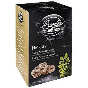 Bradley Smoker - Brikety Hickory 120 kusů (689796150122)