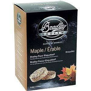 Bradley Smoker - Brikety Javor 120 kusů (689796750124)