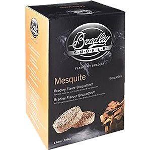 Bradley Smoker - Brikety Mesquite 120 kusů (689796680124)