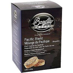 Bradley Smoker - Brikety Pacific Blend 120 kusů (689796220092)