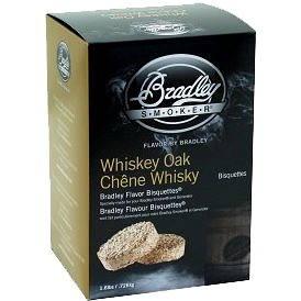 Bradley Smoker - Brikety Whiskey Dub 120 kusů (689796130032)