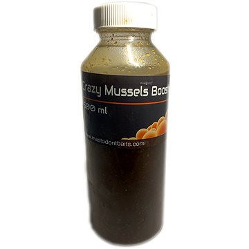 Mastodont Baits - Booster Crazy Mussels 500ml (8594187920913)