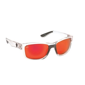 FOX Rage Sunglasses Transparent / Mirror Red (5055350299715)