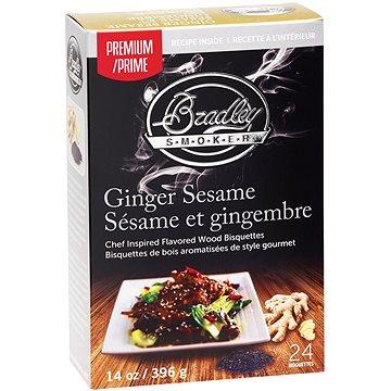 Bradley Smoker - Brikety Premium Ginger Sesame 24ks (689796110461)