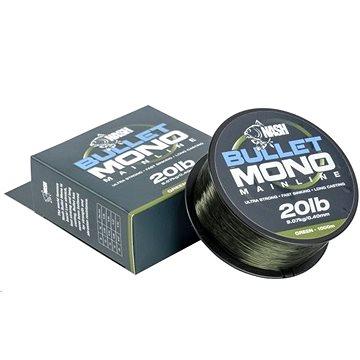 Nash Bullet Mono 0,40mm 20lb 1000m Green (5055108928034)