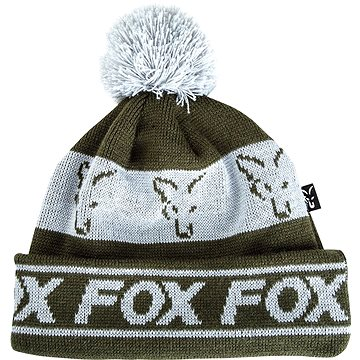 FOX Lined Bobble Hat Green/Silver (5056212117093)