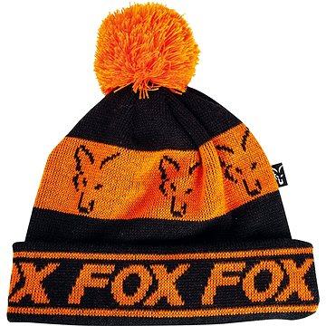 FOX Lined Bobble Hat Black/Orange (5056212117109)
