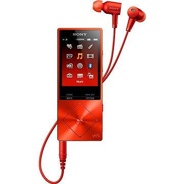 Sony Hi-Res WALKMAN NW-A25HNR červený (NWA25HNR.CEW)