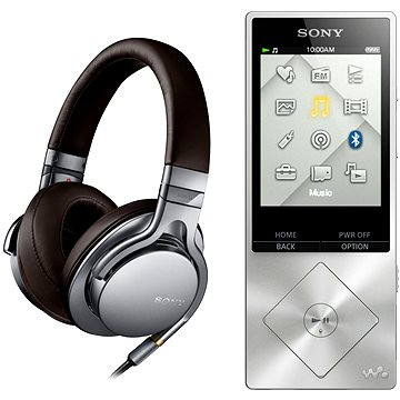Sony Hi-Res bundle WALKMAN NWZ-A15 + sluchátka MDR-1AS (NWZA15S.CEW)