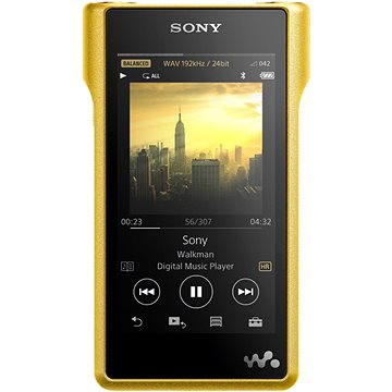 Sony Hi-Res WALKMAN NW-WM1Z + sluchátka MDR-Z1R