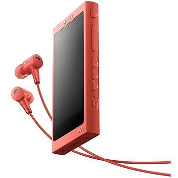 Sony NW-A45HNR červený (NWA45HNR.CEW)