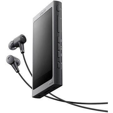Sony Hi-Res WALKMAN NW-A35 černý + sluchátka MDR-EX750 (NWA35HNB.CEW)