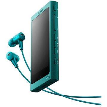 Sony Hi-Res WALKMAN NW-A35 modrý + sluchátka MDR-EX750 (NWA35HNL.CEW)