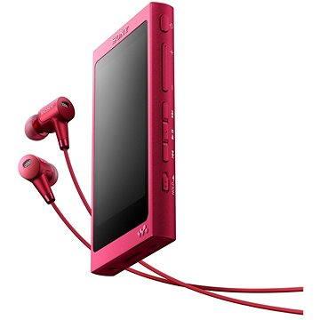 Sony Hi-Res WALKMAN NW-A35 růžový + sluchátka MDR-EX750 (NWA35HNP.CEW)
