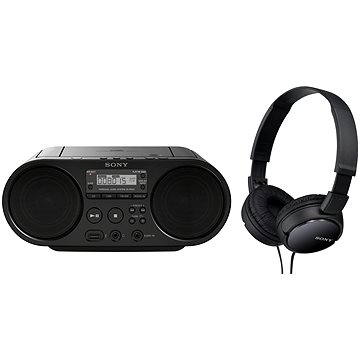 Sony ZS-PS50B + sluchátka MDR-ZX110 (ZSPS50X110BPI.YS)