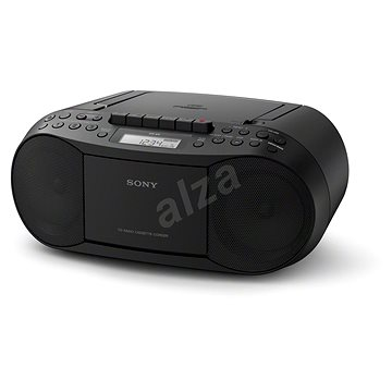Sony CFD-S70 černý (CFDS70B.CET)