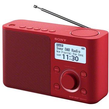 Sony XDR-S61D červený (XDRS61DR.EU8)