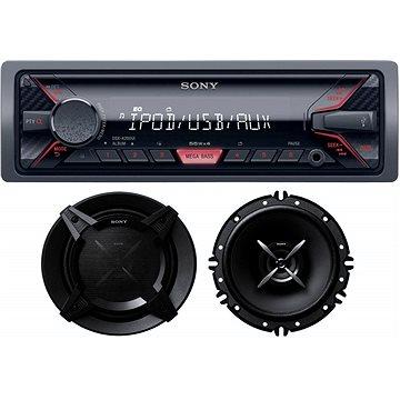 Sony DSX-A410BT + reproduktory Sony XS-FB1620E