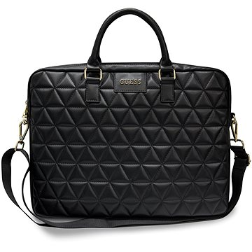 "Guess Quilted pro Notebook 15"" Black (3700740469323)"