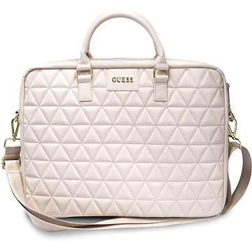 "Guess Quilted pro Notebook 15"" Pink (3700740469316)"