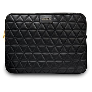 "Guess Quilted pro Notebook 13"" Black (3700740471562)"