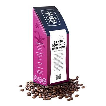 Coffee Club Santo Domingo Barahona, 227g, zrnková