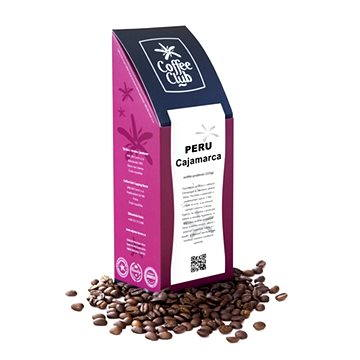 Coffee Club Peru Cajamarca, zrnková, 227g