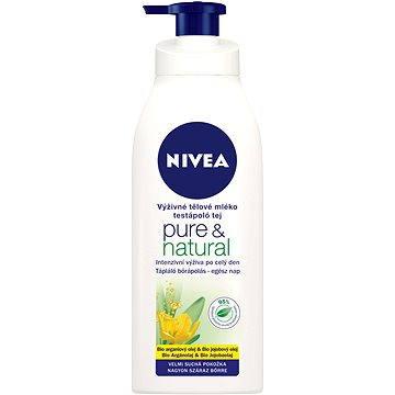 Tělové mléko NIVEA Pure&Natural 400 ml (4005808704910)