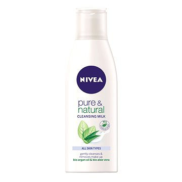 Pleťové mléko NIVEA Pure&Natural 200 ml (4005808582129)
