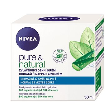 Pleťový krém NIVEA Pure&Natural 50 ml (9005800232034)