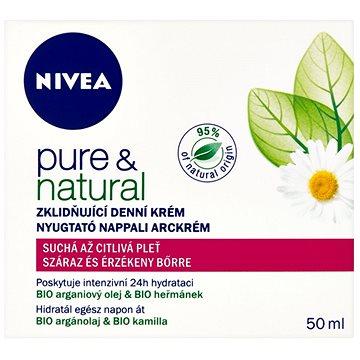 Pleťový krém NIVEA Pure&Natural 50 ml (9005800232041)