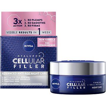 Pleťový krém NIVEA Cellular Anti-Age noční 50 ml (9005800244167)