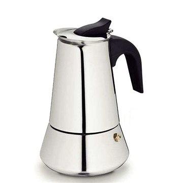 Kela espresso kávovar BARI nerez 4 šálky (KL-10600)