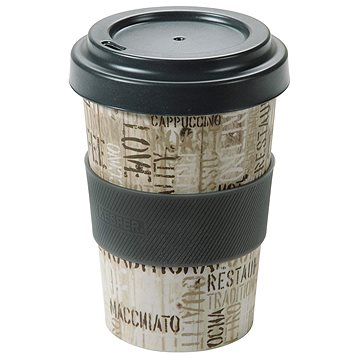 Kesper Kelímek bambusový na kávu 400ml COFFEE LETTERS (41230)