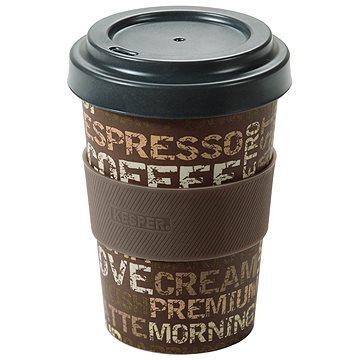 Kesper Kelímek bambusový na kávu 400ml COFFEE TIME (41232)