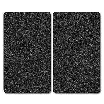 Kesper Multifunkční deska ze skla motiv: žula, 2 ks 52x30cm (36522)