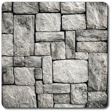 Kesper Multifunkční skleněná deska motiv kámen 56x50cm (36589)