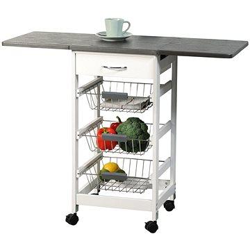 Kesper Pojízdný regál kuchyňský rozkládací (25816)