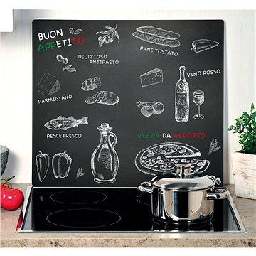 Kesper Multifunkční skleněná deska motiv ristorante 56x50cm (36588)