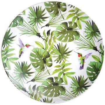 Kesper s dekorem tropických listů, plastový, průměr 25 cm (32704)