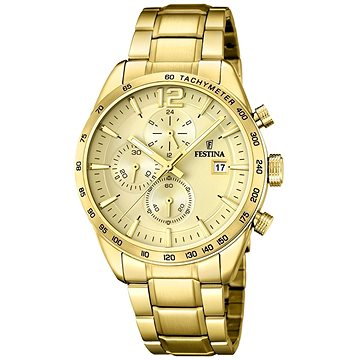 Pánské hodinky FESTINA 20266/1 (8430622675065) + ZDARMA Batoh Festina denim bag