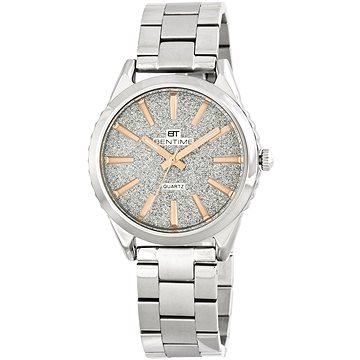 Dámské hodinky BENTIME 006-9MB-11272B (8592445136465) + ZDARMA Náušnice BENETO stříbrné náušnice